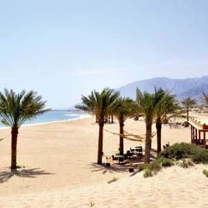 Sifawy Boutique Hotel in Muscat:  Sifah Sifawy Boutique Hotel Strand
