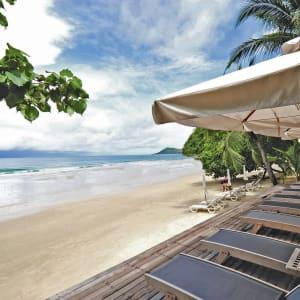 Ayutthaya & Mae Klong ab Bangkok: beach: Thailand Ao Prao Resort Strand