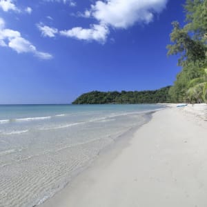 Ayutthaya & Mae Klong ab Bangkok: beach: Thailand High Season Pool Villa and Spa Strand