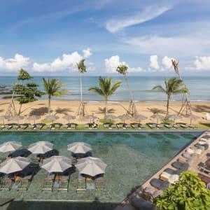 Ayutthaya & Mae Klong ab Bangkok: beach: Thailand La Vela Khao Lak Kokolu Beach Club