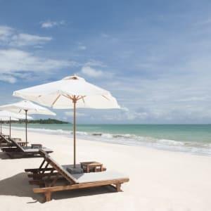 Ayutthaya & Mae Klong ab Bangkok: beach: Thailand Layana Resort & Spa Strand