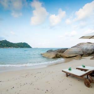 Ayutthaya & Mae Klong ab Bangkok: beach: Thailand Panviman Resort Strand