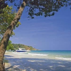 Ayutthaya & Mae Klong ab Bangkok: beach: Thailand Paradee Resort and Spa
