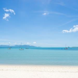 Ayutthaya & Mae Klong ab Bangkok: beach: Thailand Peace Resort Strand