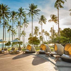 Ayutthaya & Mae Klong ab Bangkok: beach: Thailand Phi Phi Island Village Strand