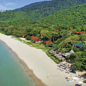 Ayutthaya & Mae Klong ab Bangkok: beach: Thailand Pimalai Resort & Spa Strand