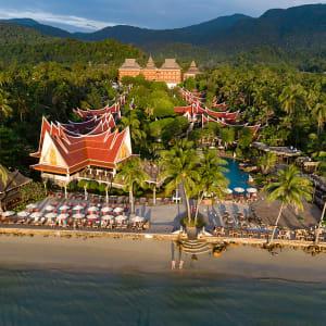 Ayutthaya & Mae Klong ab Bangkok: beach: Thailand Santhiya Tree Koh Chang Resort
