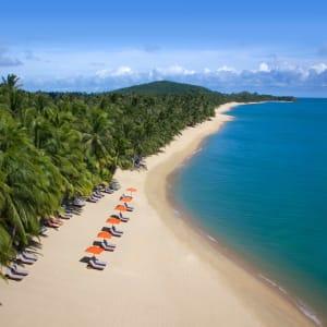 Ayutthaya & Mae Klong ab Bangkok: beach: Thailand Santiburi Koh Samui Strand