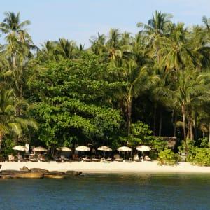 Ayutthaya & Mae Klong ab Bangkok: beach: Thailand Shantaa Resort Koh Kood Strand