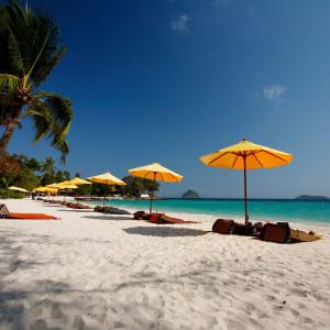 Ayutthaya & Mae Klong ab Bangkok: beach: Thailand Zeavola Resort Strand