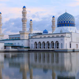 Höhepunkte Borneos ab Kuching: Borneo Sabah Kota Kinabalu Moschee