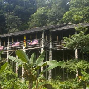 Höhepunkte Borneos ab Kuching: Borneo Sarawak Langhaus