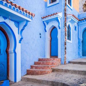 Höhepunkte Marokkos ab Casablanca: Chefchaouen