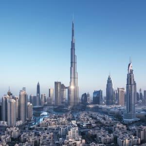 Glitzernder Perlen- & Blumenzauber ab Malediven: Dubai Skyline