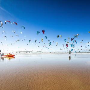 Königsstädte & Küste im Mietwagen ab Casablanca: Essaouira Kite Surfen