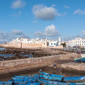Höhepunkte Marokkos ab Casablanca: Essaouira Stadtansicht
