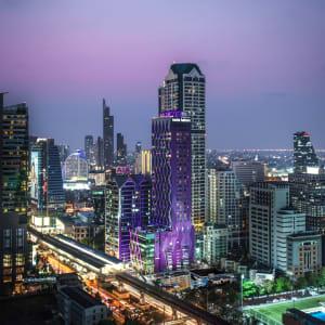 Ayutthaya & Mae Klong ab Bangkok: exterior: Bangkok Mode Sathorn Hotel