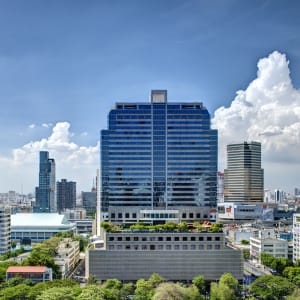 Ayutthaya & Mae Klong ab Bangkok: exterior: Bangkok Pathumwan Princess Hotel