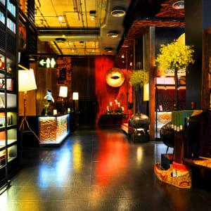 Ayutthaya & Mae Klong ab Bangkok: exterior: Bangkok Siam@Siam Design Hotel Rezeption