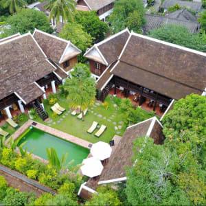 Villa Maydou in Luang Prabang:  Luang Prabang Villa Maydou Garten