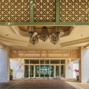 Barcelo Mussanah Resort in Küste:  Mussanah Millennium Resort Mussanah Aussenansicht
