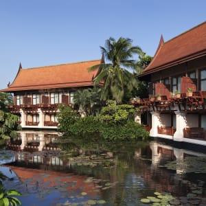 Ayutthaya & Mae Klong ab Bangkok: exterior: Thailand Anantara Hua Hin Resort Lagune