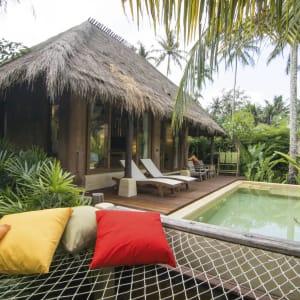 Ayutthaya & Mae Klong ab Bangkok: exterior: Thailand High Season Pool Villa and Spa Grand Pool Villa
