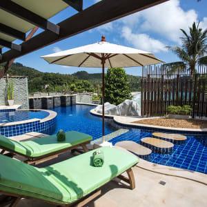 Ayutthaya & Mae Klong ab Bangkok: exterior: Thailand Panviman Resort Pool Villa