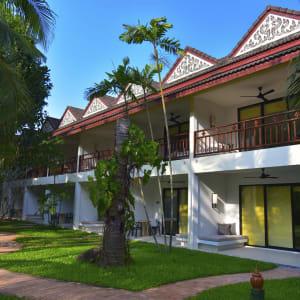 Ayutthaya & Mae Klong ab Bangkok: exterior: Thailand Paradise Beach Resort Samui Garten