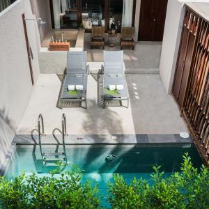Ayutthaya & Mae Klong ab Bangkok: exterior: Thailand Peace Resort Deluxe Plunge Pool