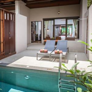Ayutthaya & Mae Klong ab Bangkok: exterior: Thailand Peace Resort Deluxe Private Pool