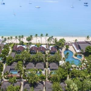 Ayutthaya & Mae Klong ab Bangkok: exterior: Thailand Peace Resort Strand Luftaufnahnme