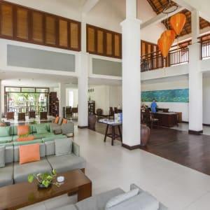 Blue Ocean Resort in Phan Thiet:  Vietnam Blue Ocean Resort Lobby