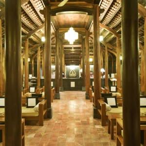 Pilgrimage Village in Hue:  Vietnam Pilgrimage Village Lobby