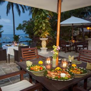 Alam Anda Ocean Front Resort & Spa in Ost-Bali | Sidemen:  Alam Anda Ocean Front Resort and Spa Restaurant