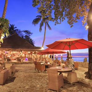 Puri Mas Beach Resort in Lombok:  Lombok Puri Mas Reach Resort Restaurant