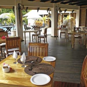 Indian Ocean Lodge in Praslin:  Praslin Indian Ocean Lodge Restaurant