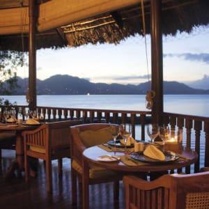 Cerf Island Resort in Outer Islands:  Seychellen Cerf Island Resort Restaurant