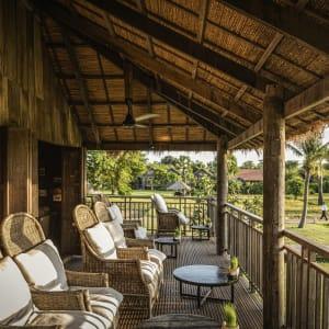 Zannier Hotels Phum Baitang in Siem Reap:  Siem Reap Zannier Hotels Phum Baitang Main Bar