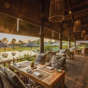 Zannier Hotels Phum Baitang in Siem Reap:  Siem Reap Zannier Hotels Phum Baitang Restaurant