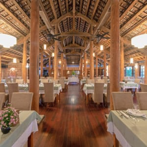 Pilgrimage Village in Hue:  Vietnam Pilgrimage Village Restaurant