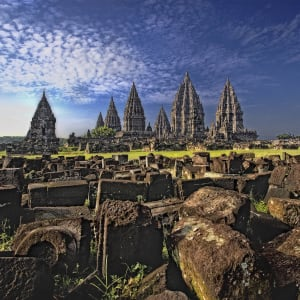 Entdeckertour Mittel-Java ab Yogyakarta und Umgebung: Indonesien Java Prambanan Tempel