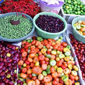 Überlandreise Sumatra ab Medan: Indonesien Sumatra Markt