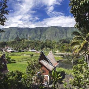 Überlandreise Sumatra ab Medan: Indonesien Sumatra Toba See