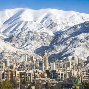 Klassischer Iran ab Teheran: Iran Teheran Berge Winter