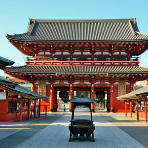 Stadtrundfahrt Tokio, EN, Ganztägig: Japan Tokio Asakusa Sensoji Tempel