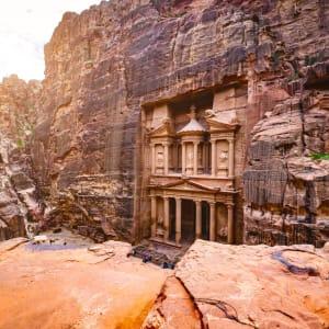 Petra, EN, Ganztägig in Amman: Jordanien Petra Schatzhaus