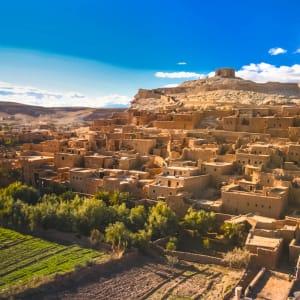 Ouarzazate und die Kasbahs, EN, Ganztägig in Marrakesch: Marokko Ait Benhaddou