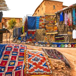 Kurztrip Süden ab Marrakesch: Marokko Ait Benhaddou Souvenirshop