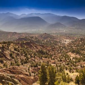 Soft Adventure Atlasgebirge ab Marrakesch: Marokko Atlas Gebirge Landschaft